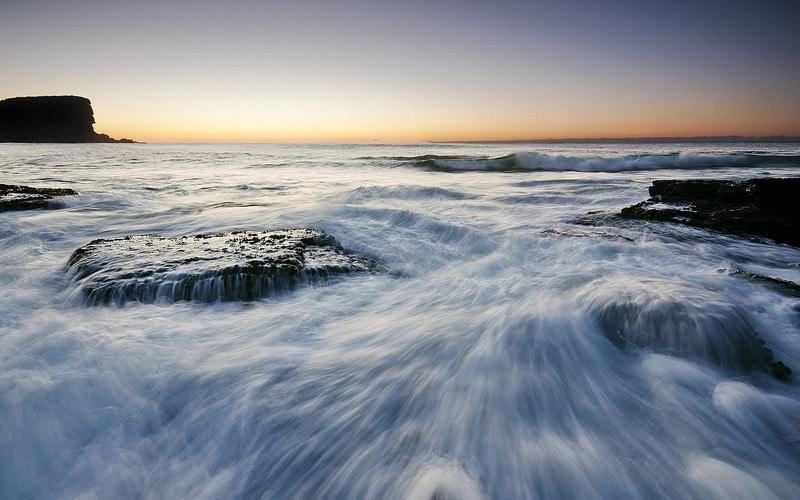 Avalon Beach Sunrise Seascape by Jack Chauvel Photography