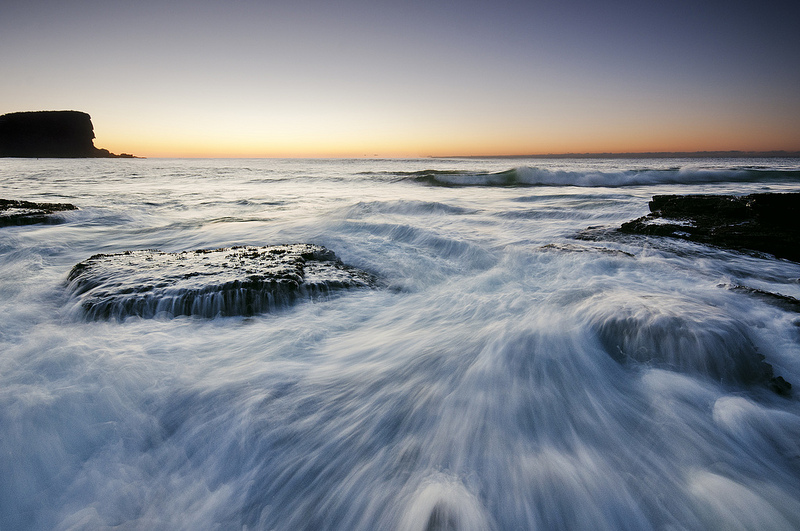 Avalon Beach Sunrise Seascape by Jack Chauvel Photography