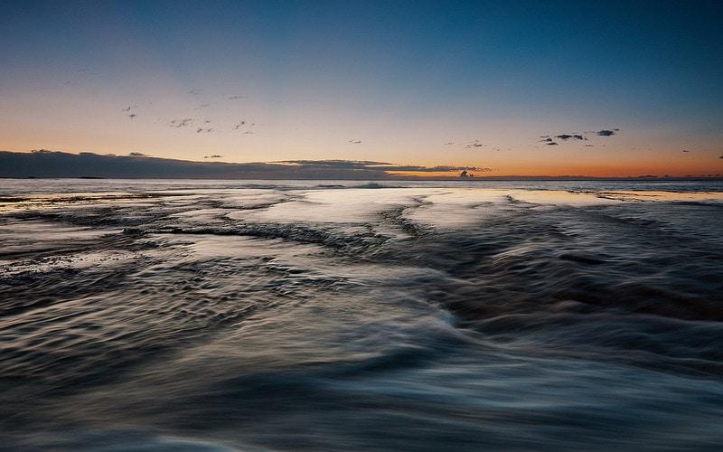 Mona Vale Sunrise Seascape in Sydney Australia