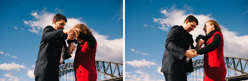 Peter & Ann - A Portrait Session in The Rocks, Sydney