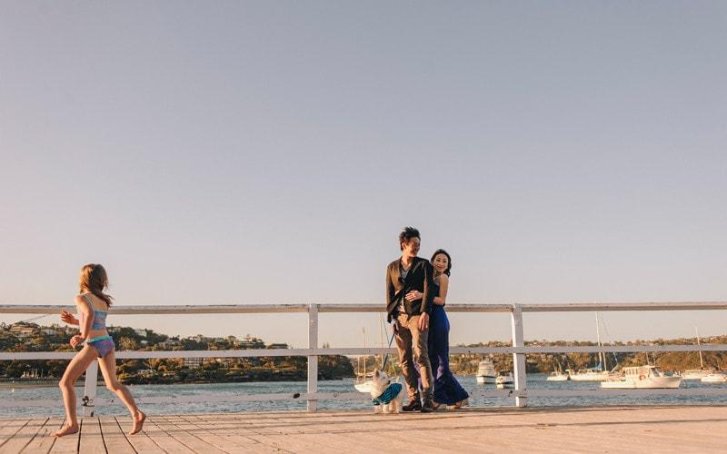 Carrie & Tristan Balmoral Beach Portrait Session