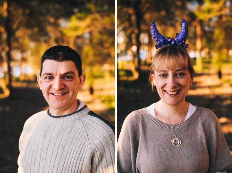 Peter and Ann's Ghoulishly Good Halloween Post Wedding Portrait Shoot