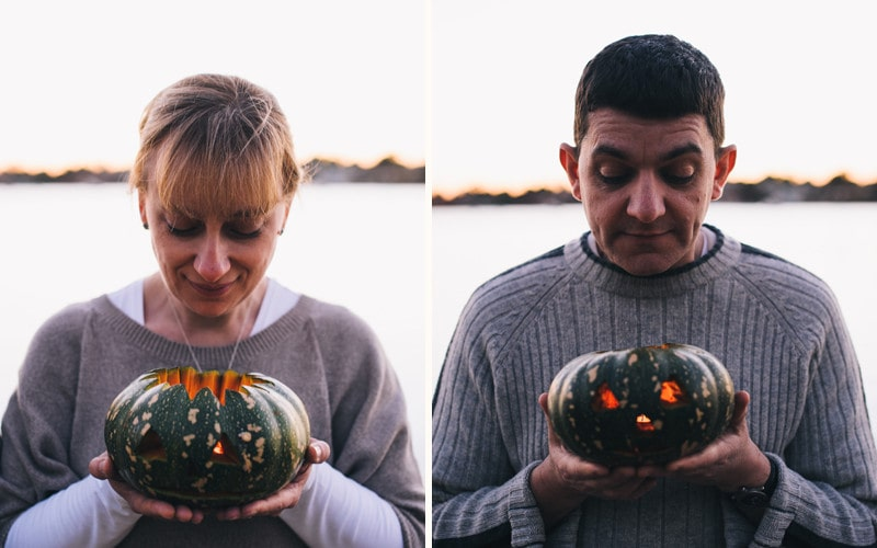 Peter and Ann's Ghoulishly Good Halloween Post Wedding Portrait Shoot