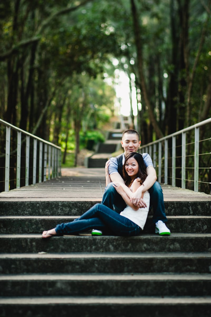 Alex & Nguyet Autumn Portrait Session in Bicentennial Park Sydney