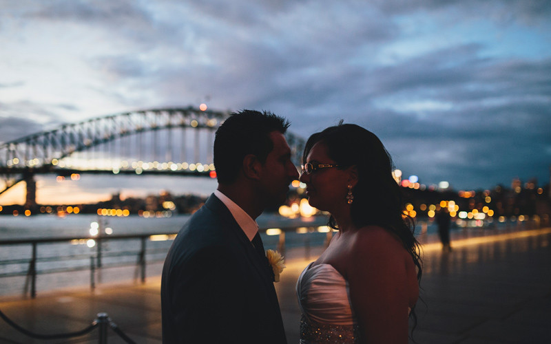 Maria & Rob Sydney Opera House Wedding