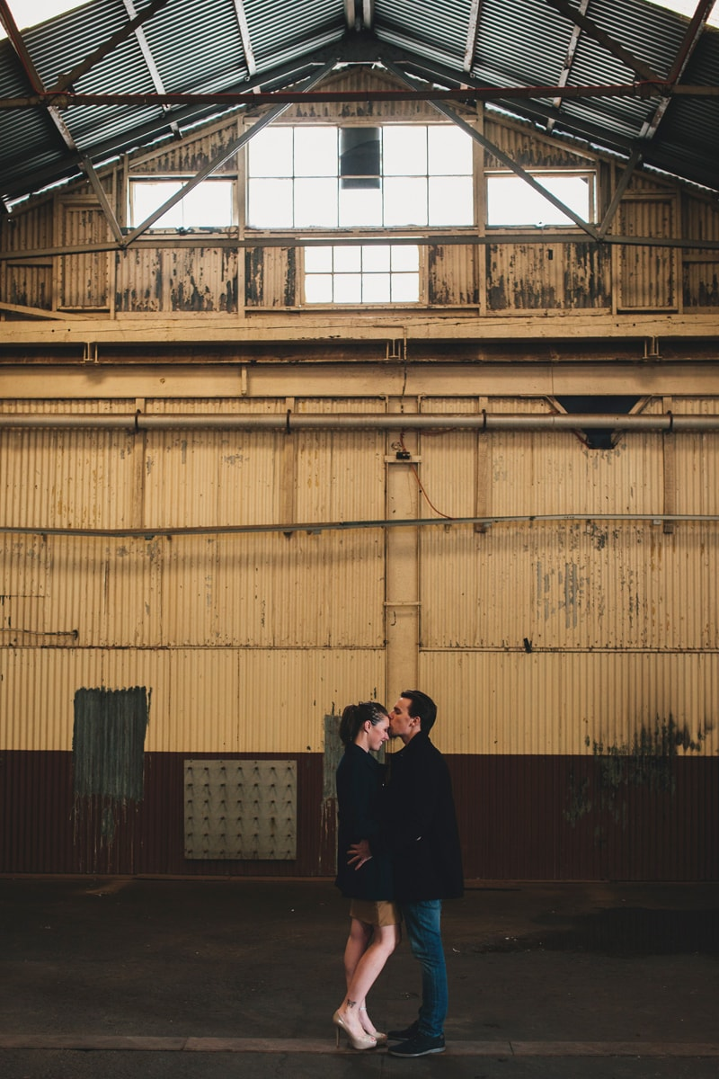 Engagement on Cockatoo Island