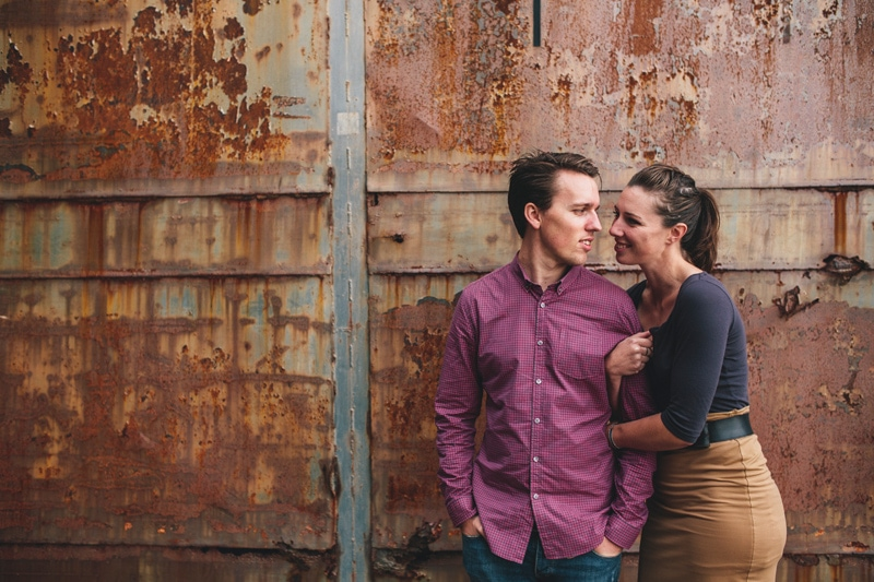 Nick & Alex - Cockatoo Island Prewedding Portrait Session