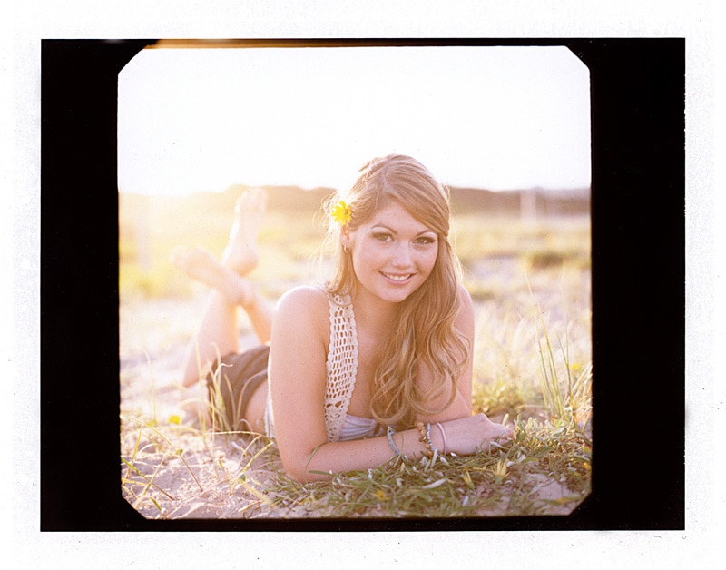 Sarah Kelly Lifestyle Portraits at Maroubra on Film