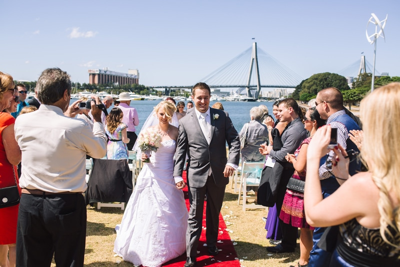 Andrejs & Alisha Sydney Spring Wedding