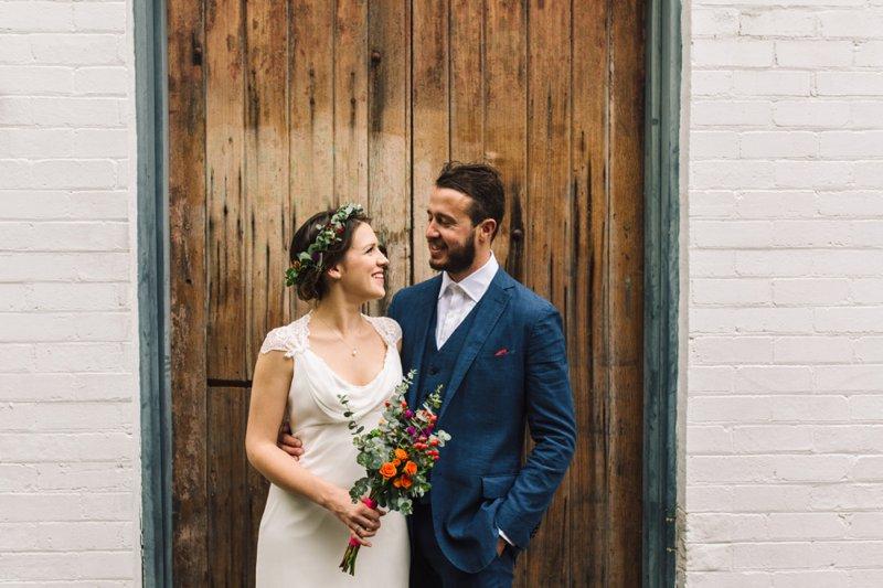 Anna Michael Newtown Wedding 00011 Anna & Michael   St Peters Backyard Wedding