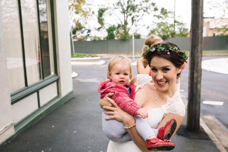 Intimate Backyard Newtown Sydney Wedding