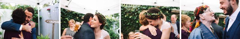 Intimate Backyard Wedding