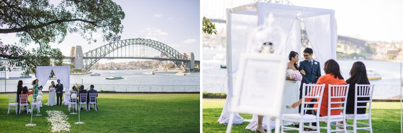 Sydney Harbour Elopement Ceremony