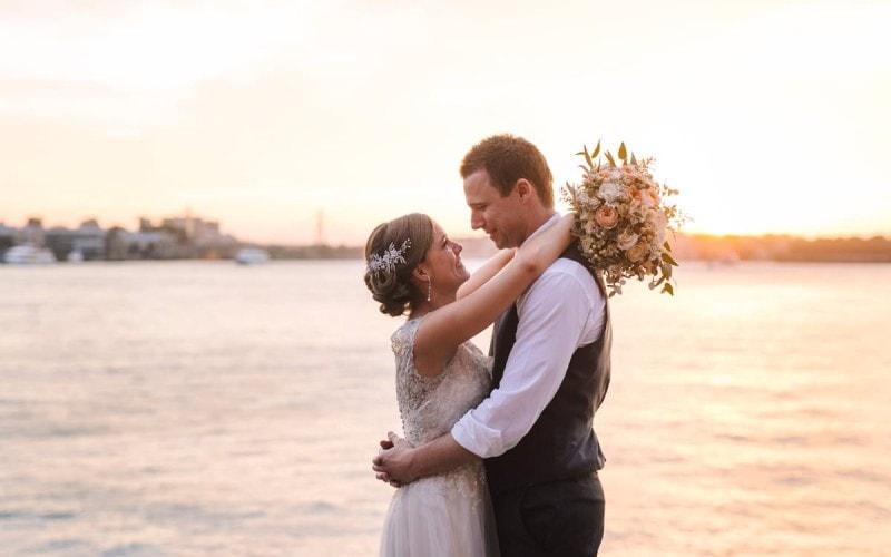 Lavender Bay Wedding