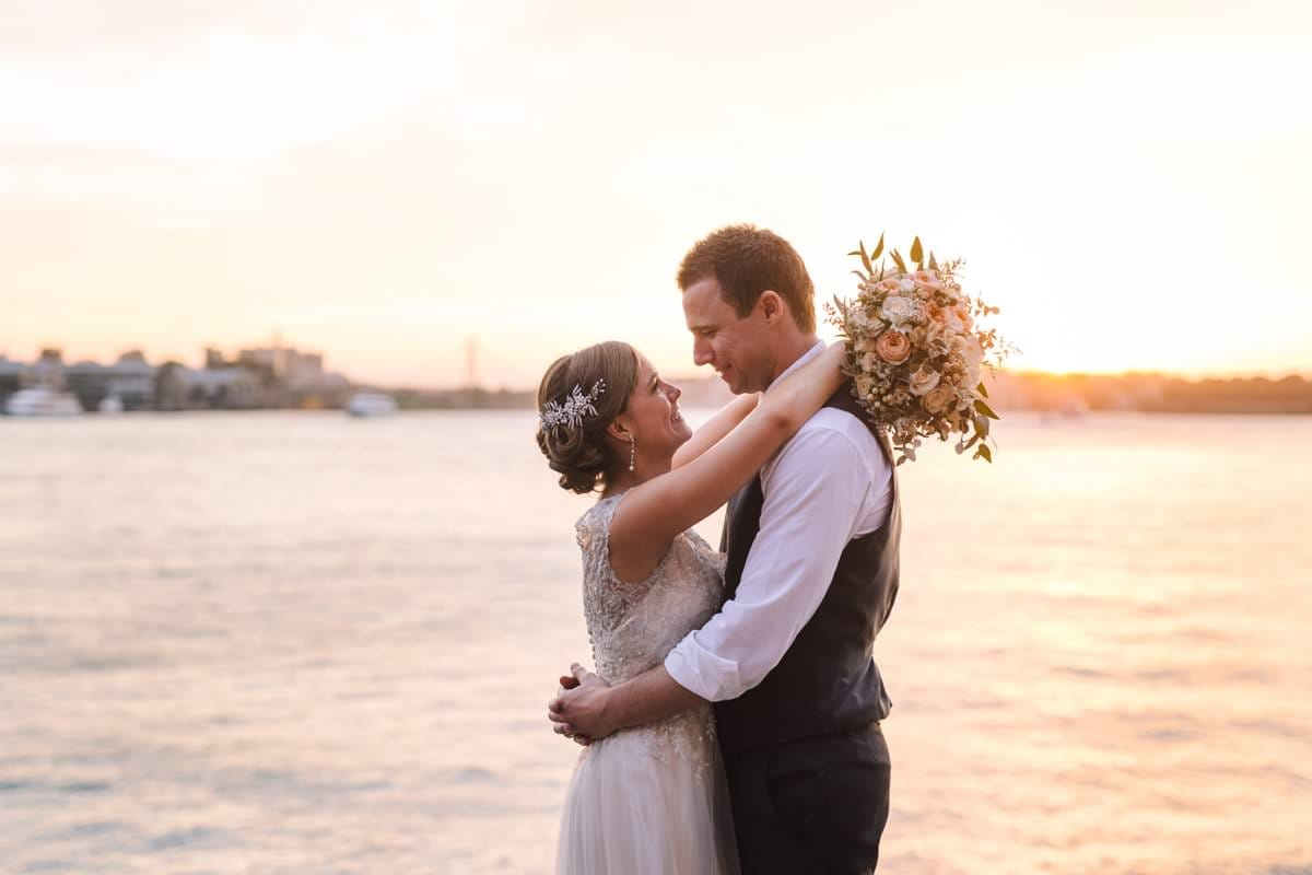 Lavender Bay Wedding