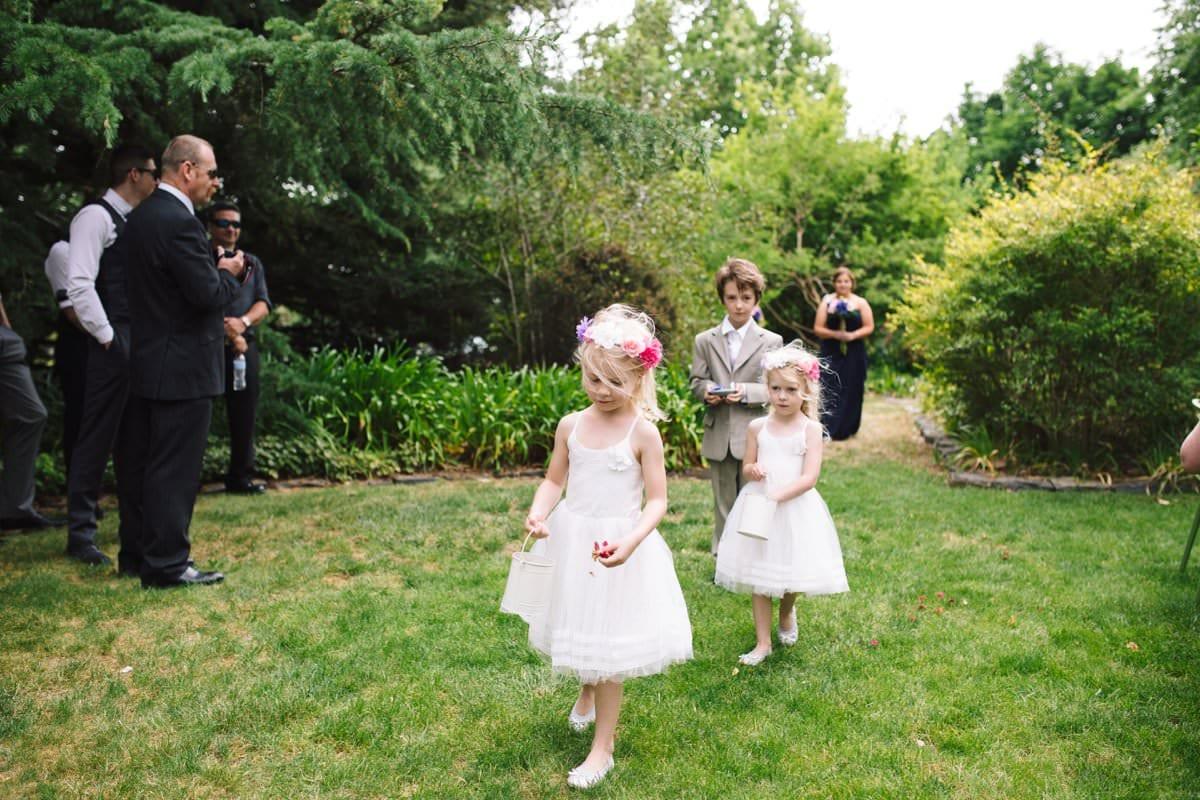 Spring Orange Wedding