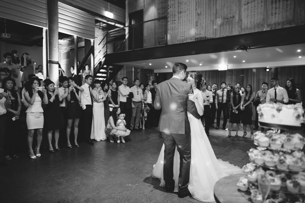 Wedding at The Mint