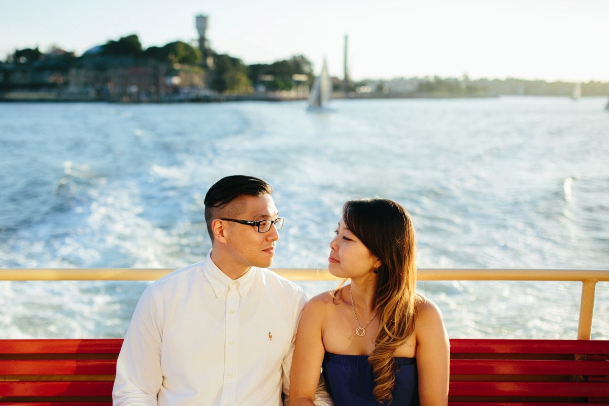 Cockatoo Island Engagement