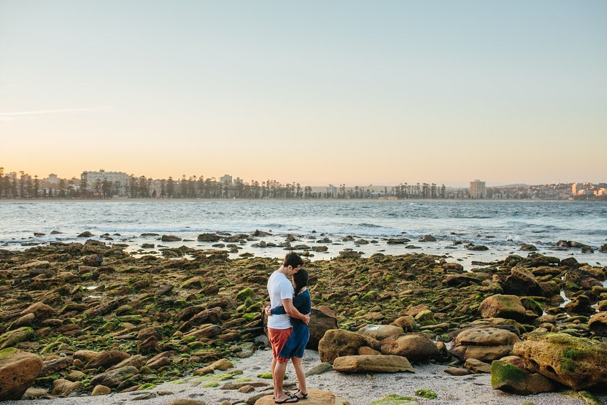 Shelly Beach Engagement