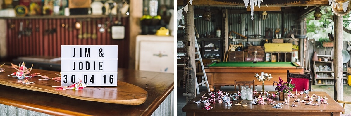 Driftwood Shed Wedding