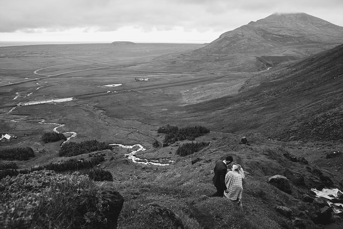 Kym & James Iceland Destination Wedding