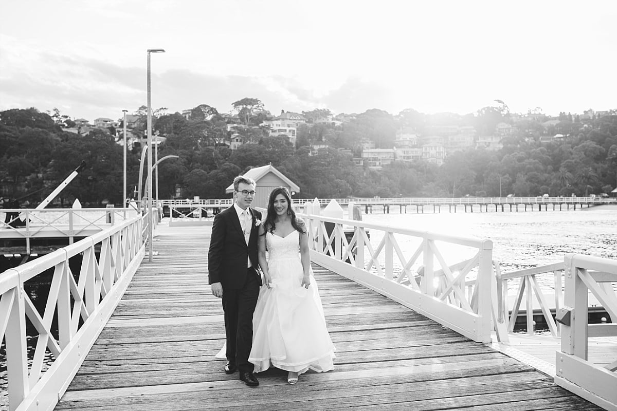 Chowder Bay Wharf Wedding