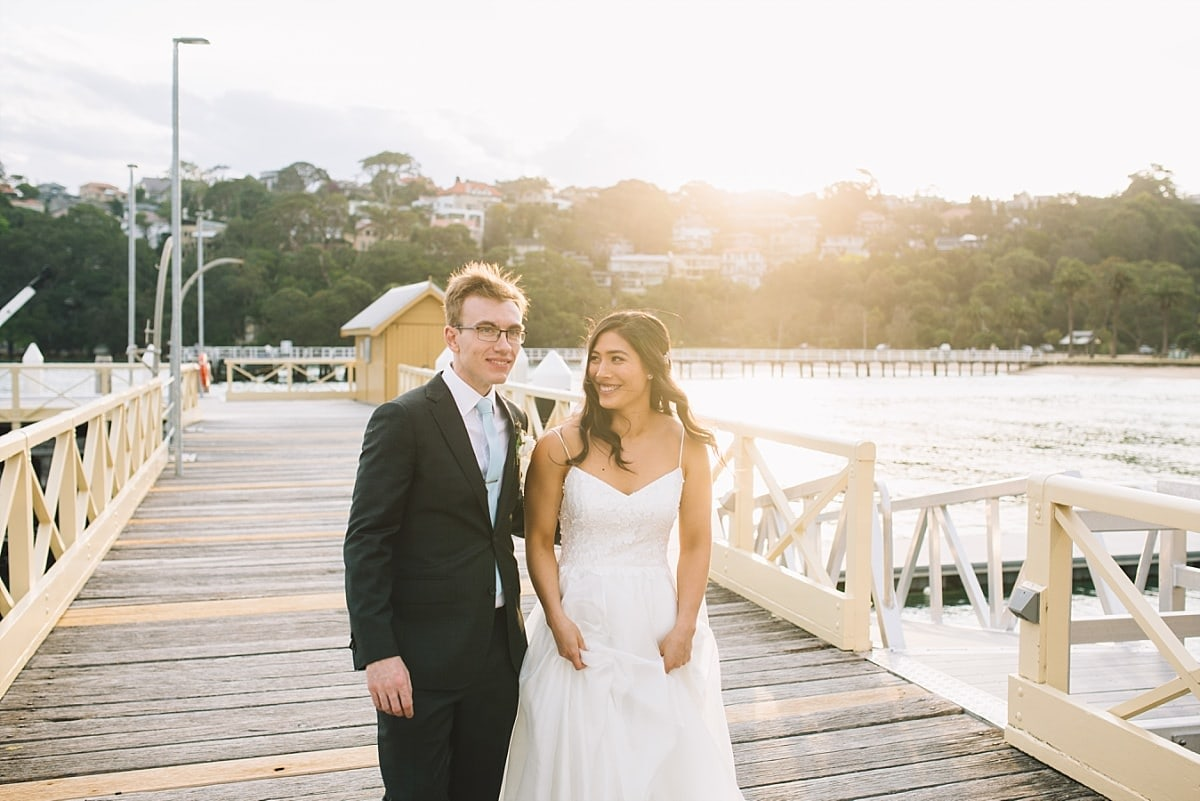 Wedding at Chowder Bay