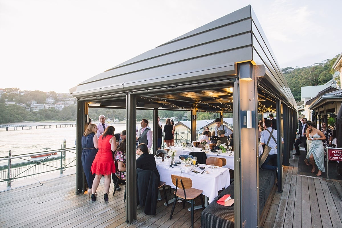 Ripples Chowder Bay Wedding