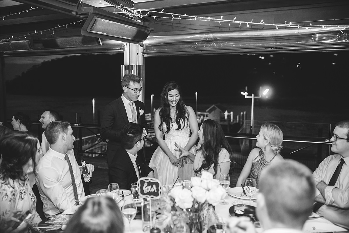 Chowder Bay Wedding