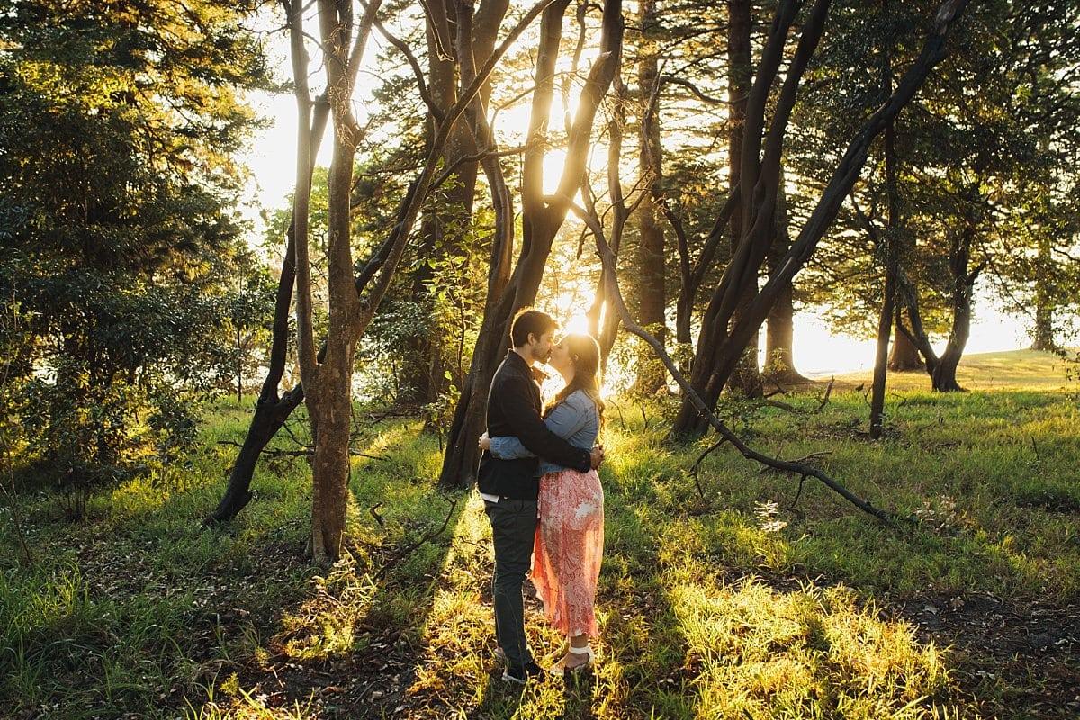Kurnell Engagement at Sunset