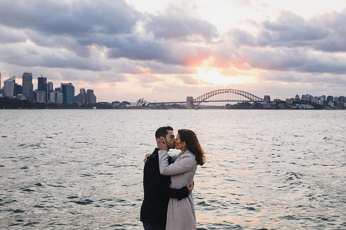 Sydney Harbour Engagement