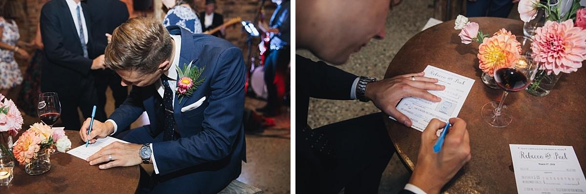Dusk Wedding