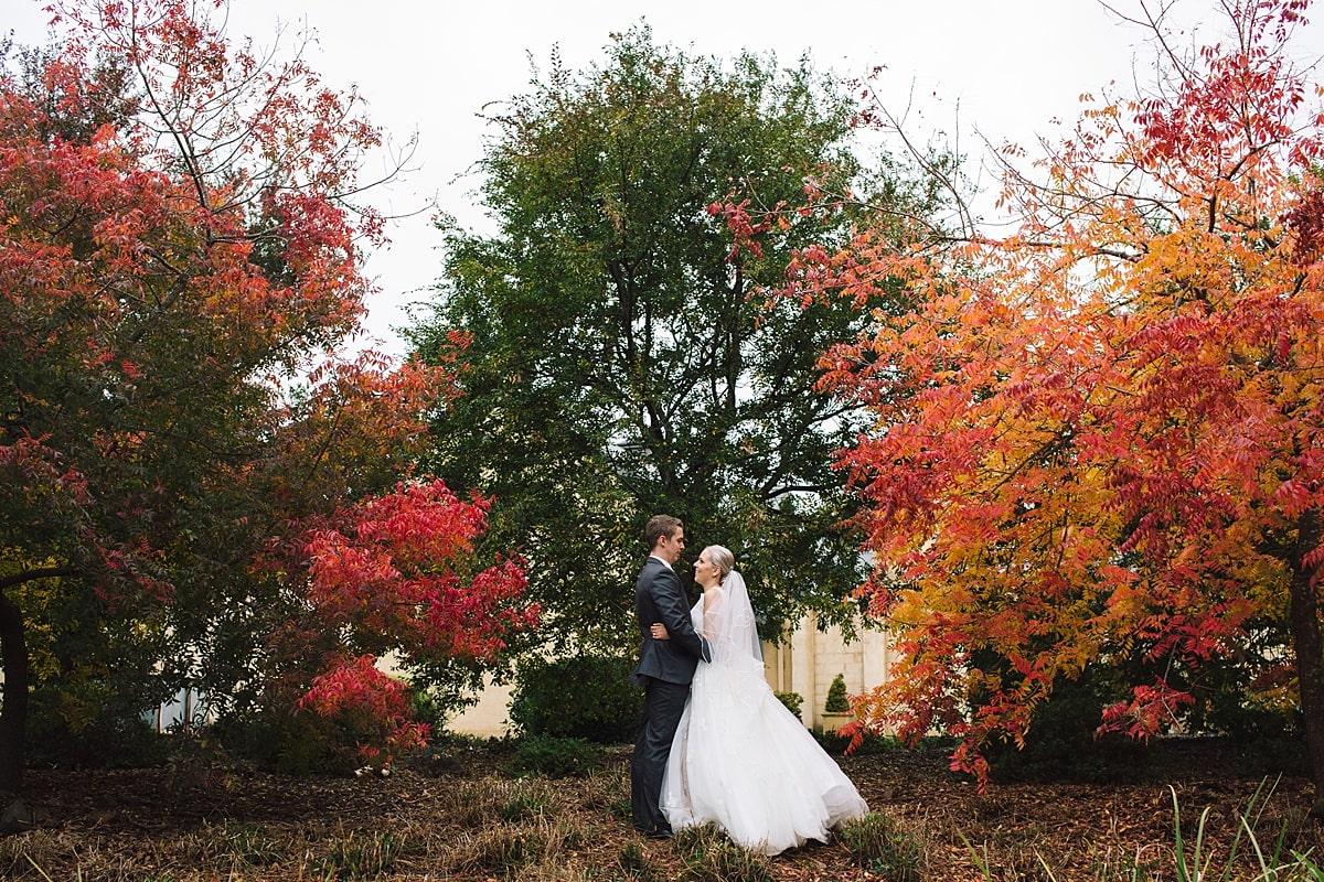 Autumn at Centennial Vineyards