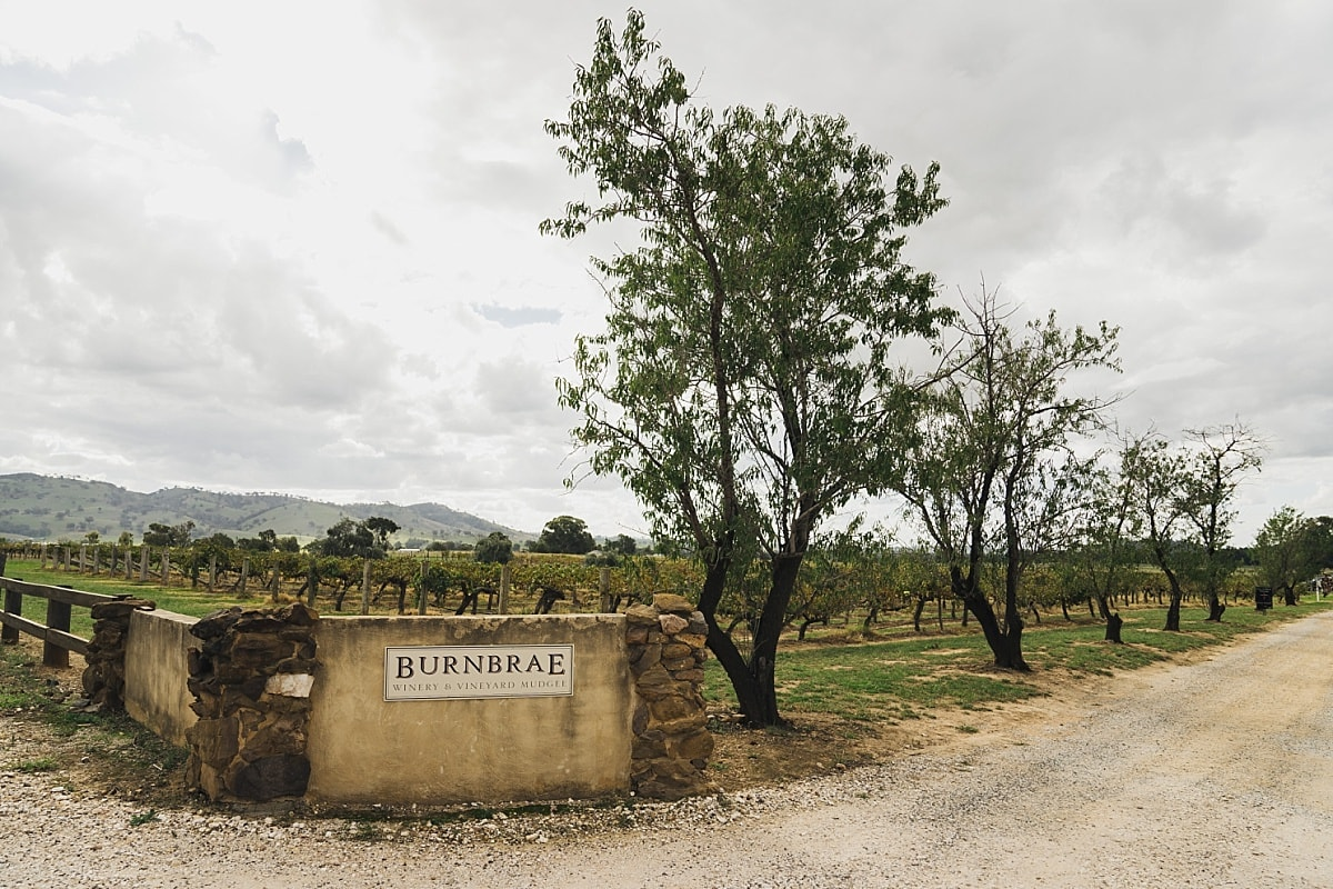 Burnbrae Wines Entrance