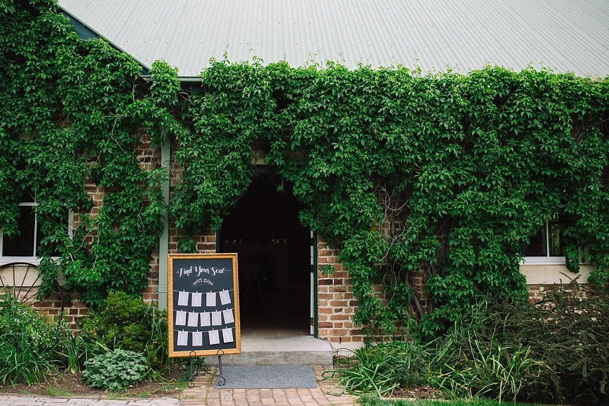 Entrance to The Barn at Montrose Berry Farm